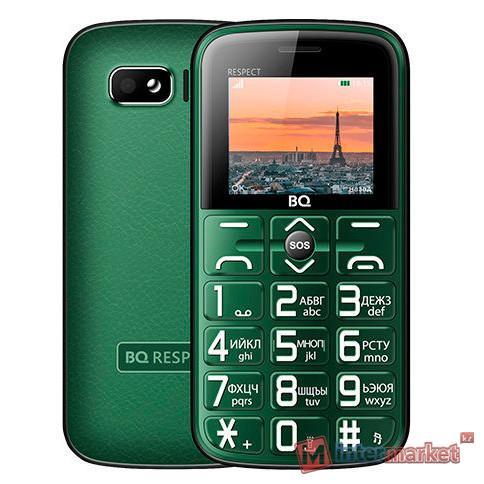 Мобильный телефон BQ-1851 Respect Зелёный /