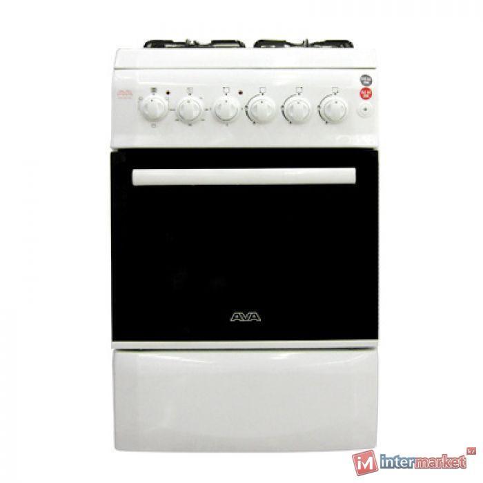 Плита газовая Ava AVG-660WH, Белый