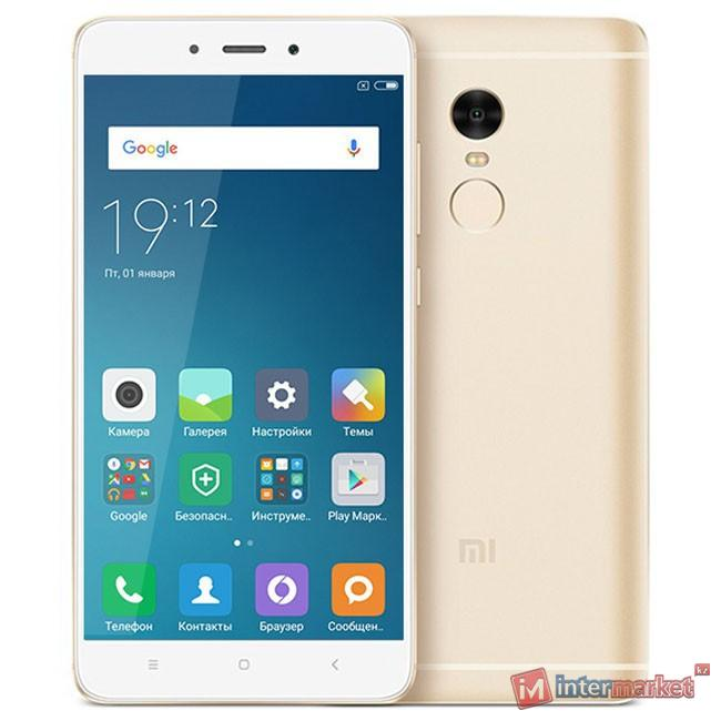 Смартфон Xiaomi Redmi Note 4X 32Gb,Gold