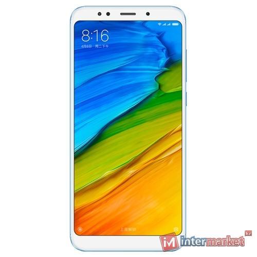 Смартфон Xiaomi Redmi 5 Plus 64GB, голубой