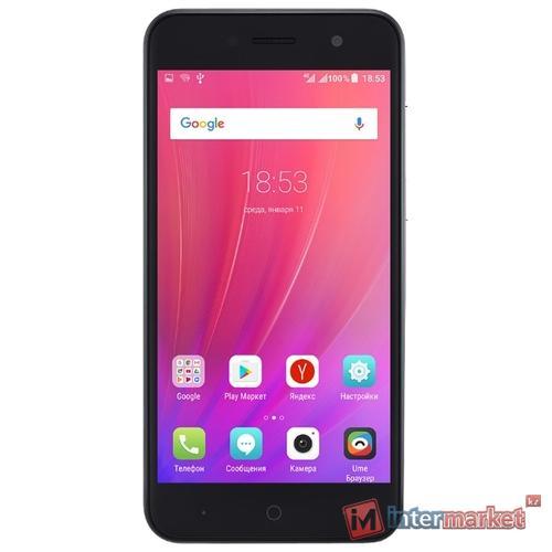 Смартфон ZTE a520 16GB/2GB, gray