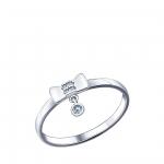 Кольцо Sokolov 94011461-16, серебро